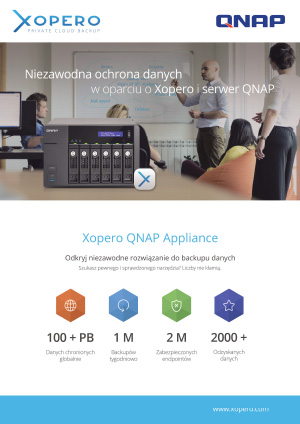 Xopero-QNAP-Appliance